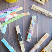 How to Make Clothespin Crafts For Easy Kitchen Organization