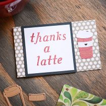 Super Adorable DIY Thank You Gift Card Holder