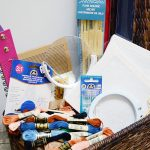 The Ultimate Beginning Cross-Stitcher Gift Basket