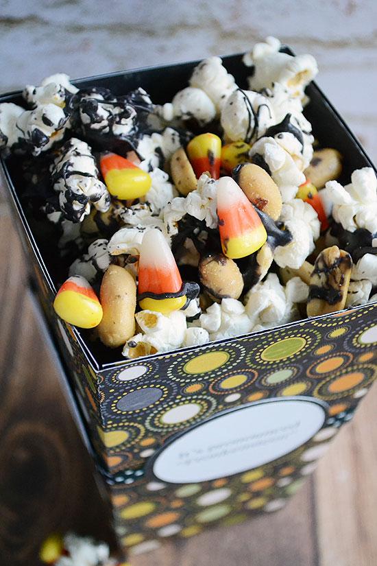 Beware! How to Make Dangerously Good Candy Corn Popcorn